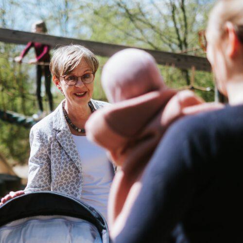 Monika Scherf Bildung