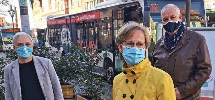 Mit Elektrobussen die Lüneburger Innenstadt entlasten
