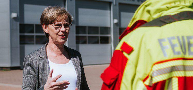 Monika Scherf erneut unterwegs in den Lüneburger Stadtteilen